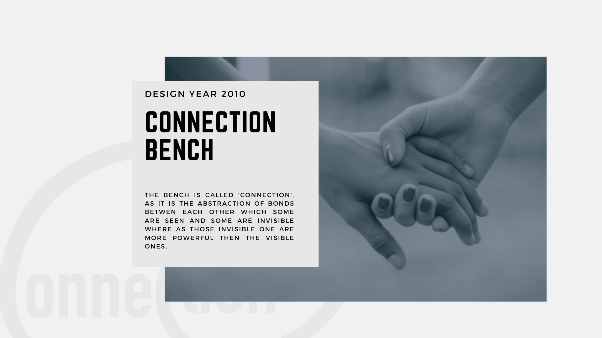Connection Bench